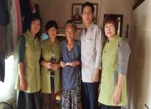 [봉화]청량사 연화회, 소아암 환아 돕기 성금 전달